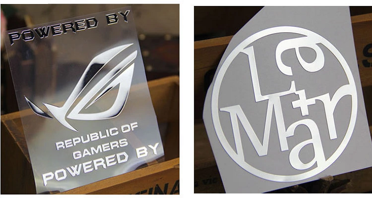What Are The Perks Of Using An Electroforming Nickel Logo Sticker